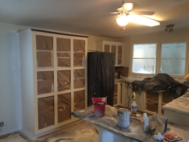 Kitchen Cabinet Painting In Houston Tx Painters Refinishing Cabinets