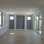 New Construction Interior Repaint In Katy, Texas
